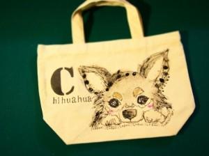 ペットの似顔絵バック 【Art Bagシリーズ  iLodori aico】オーダーメイド