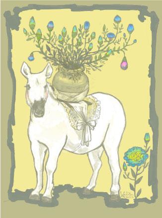 花運びの馬
