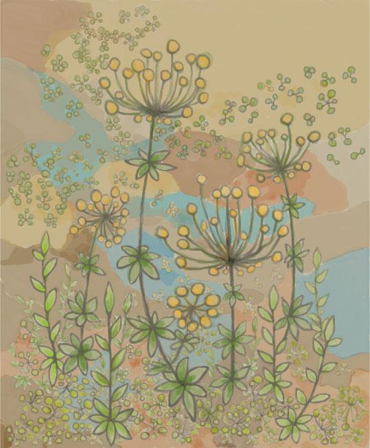 葉星草の庭