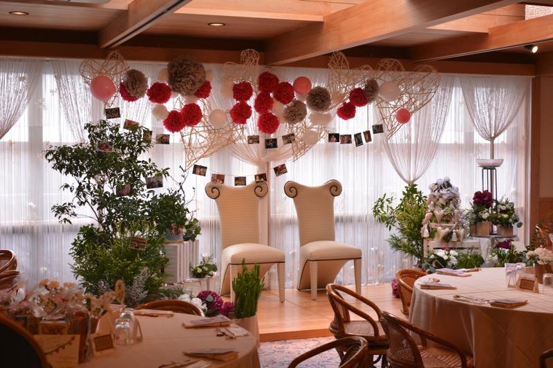 結婚式の風景 演出Baum
