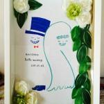SAURI ハンドメイド ウェルカムボード キット 装飾例