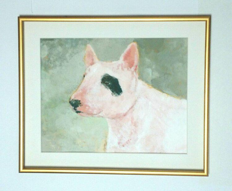 犬の似顔絵Art Board ペットメモリアル 作家Wattin--4